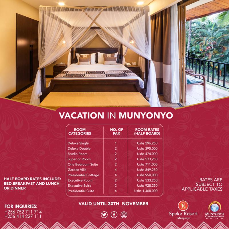Munyonyo Commonwealth Resort - Vacation in Munyonyo Accomodation 2-2020