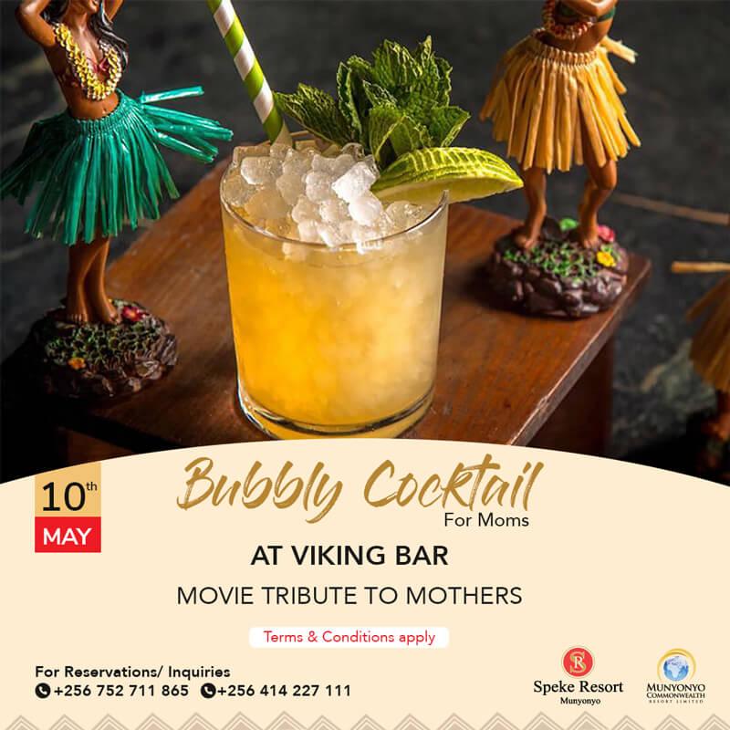 Munyonyo Commonwealth Resort -Bubbly Cocktail