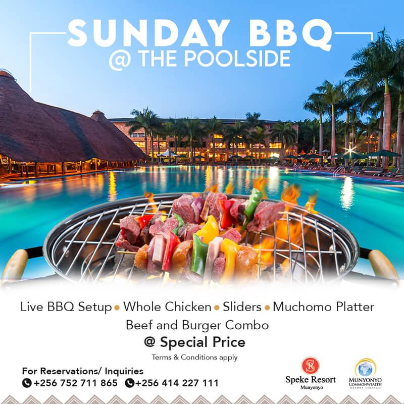Munyonyo Commonwealth Resort -Sunday BBQ
