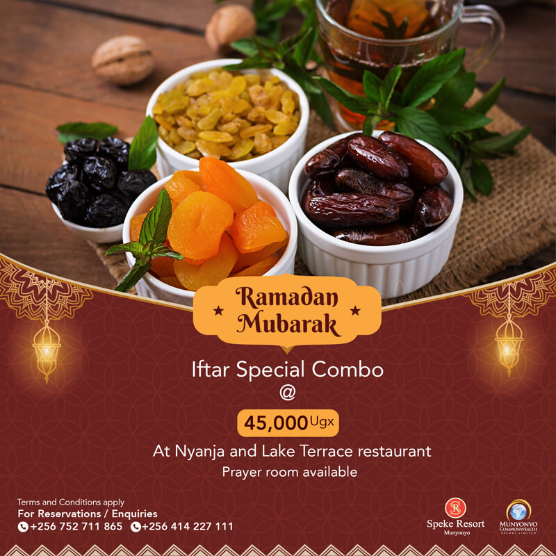 Munyonyo Commonwealth Resort iftar