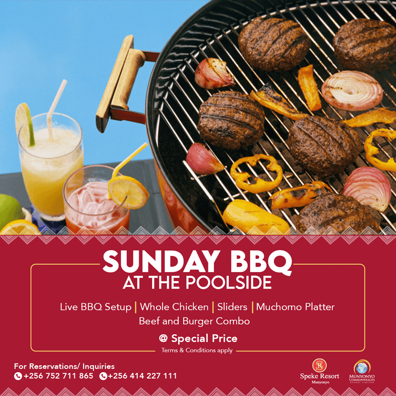 Speke Resort Sunday bbq at the pool1